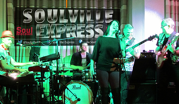 Soulville Express Soul band photo Glastonbury